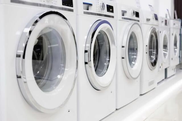 Hệ thống máy giặt hiện đại sử dụng để đặt rèm cửa