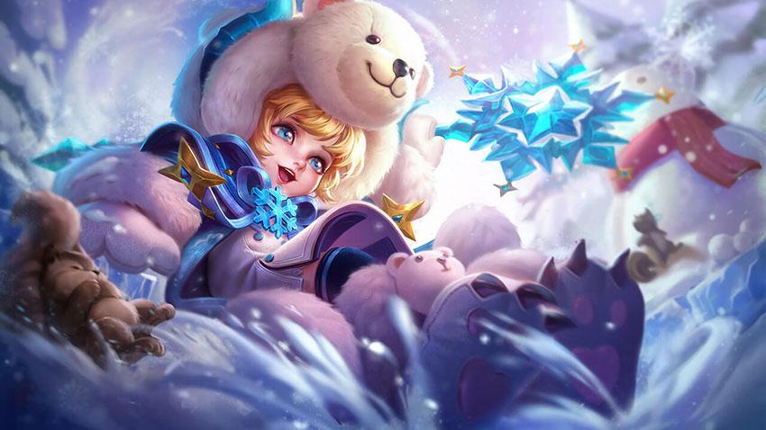Trang phục Alice Bé Gấu Tuyết