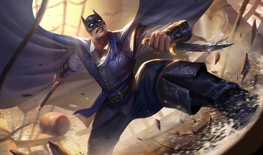 Trang phục Batman Đôi Cánh Đại Dương