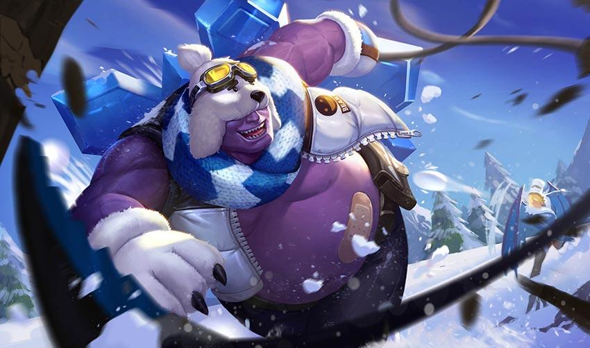 Grakk Chàng Gấu Tuyết