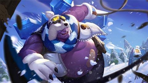Trang phục Grakk Chàng Gấu Tuyết