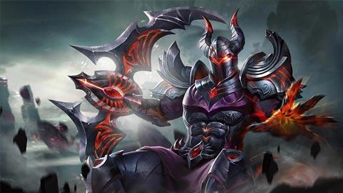 Trang phục Nakroth Chiến Binh Hoả Ngục