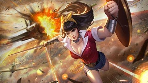 Trang phục Wonder Woman Thế Chiến