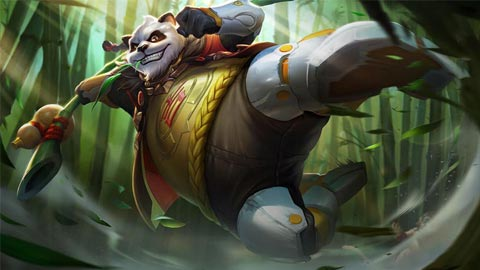 Trang phục Zuka Đại Sư Gấu Mèo