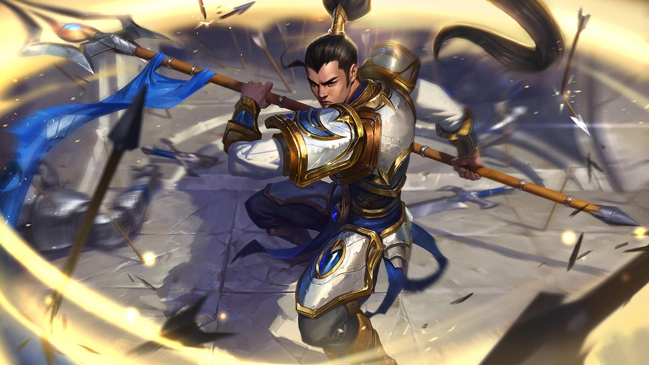Trang phục Xin Zhao Tể Tướng Demacia